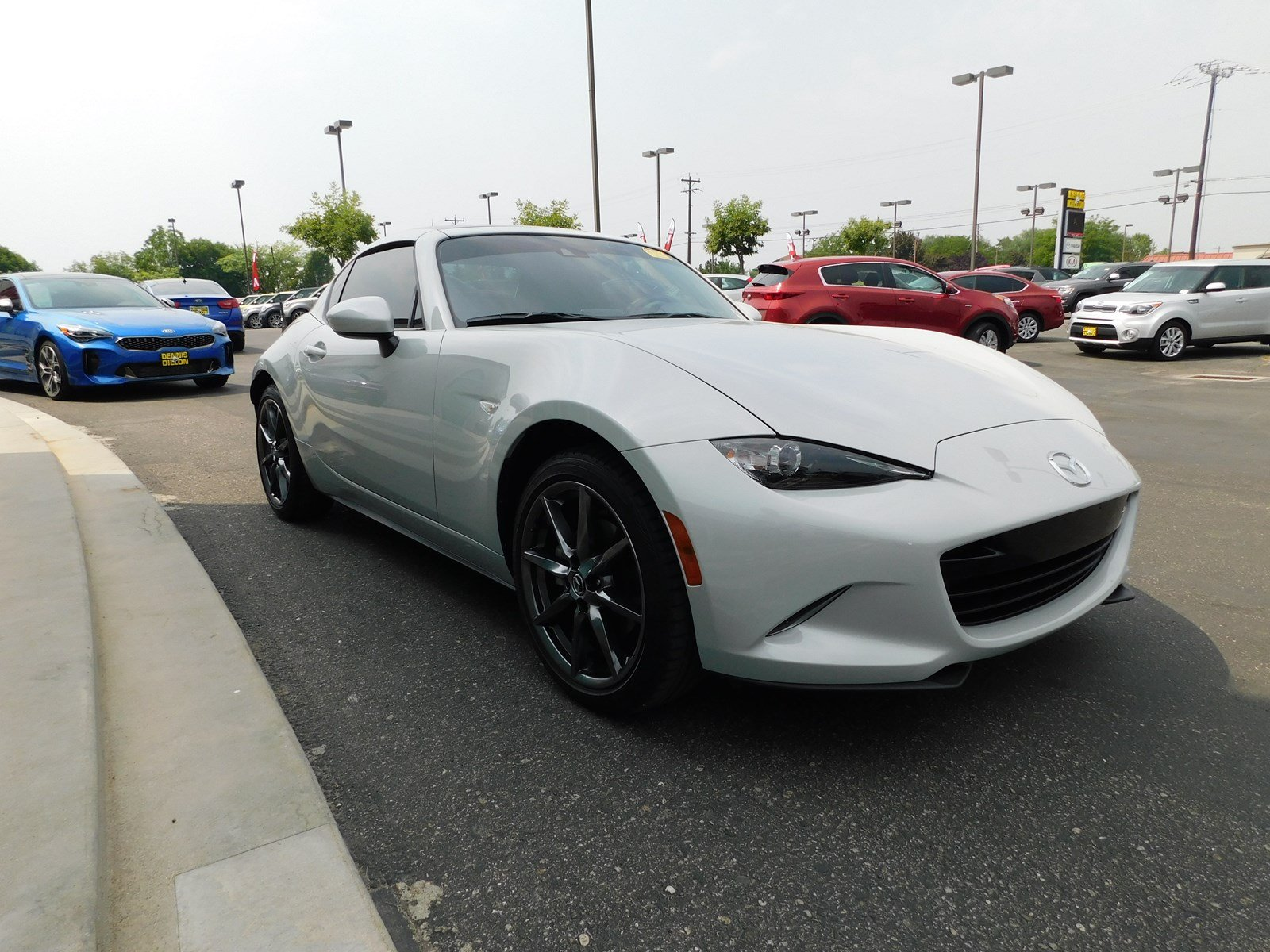 Pre Owned 2017 Mazda MX 5 Miata RF Grand Touring 2dr Car in Boise
