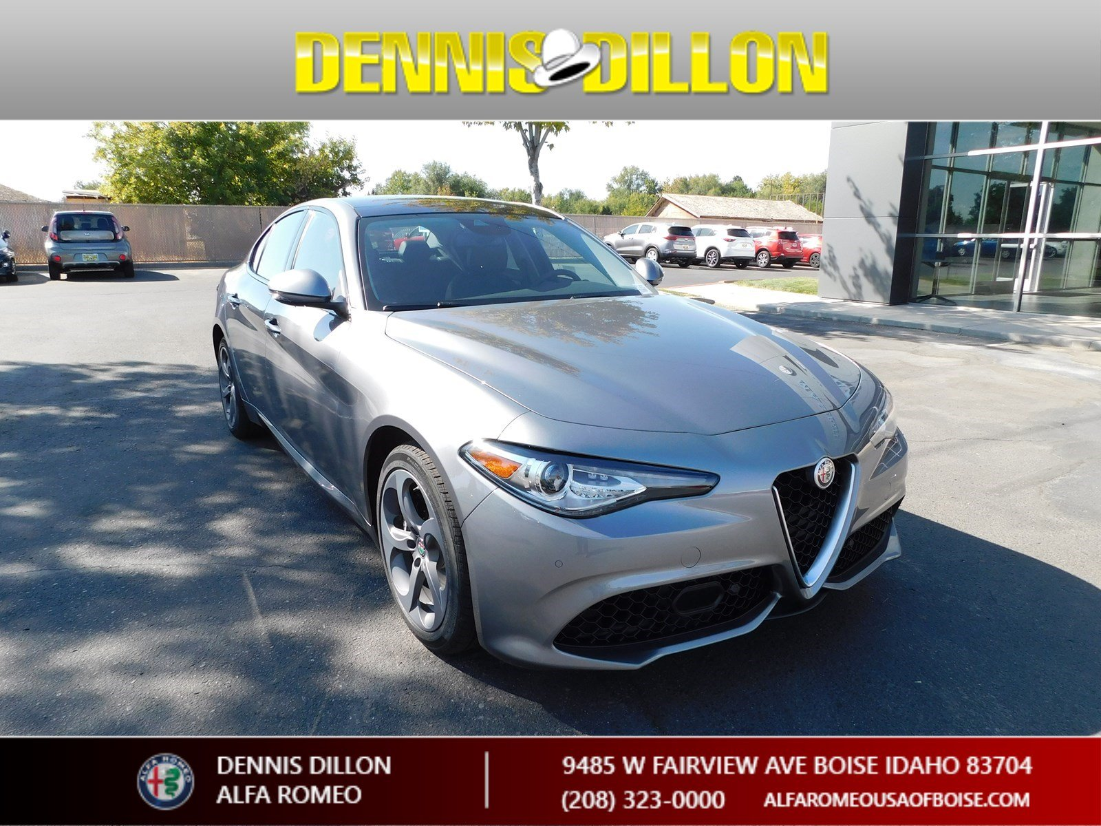 New 2018 Alfa Romeo Giulia Sedan in Boise F1J071