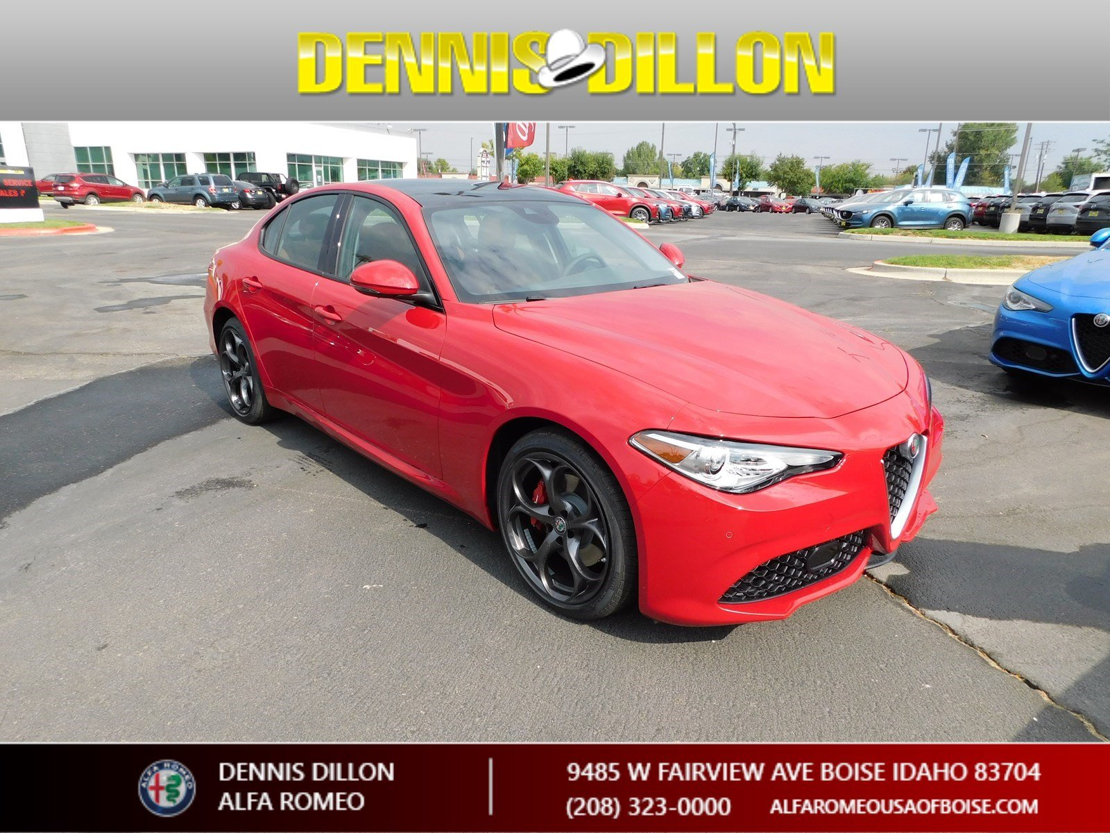 New 2018 Alfa Romeo Giulia Ti Sport Sedan in Boise F1J057