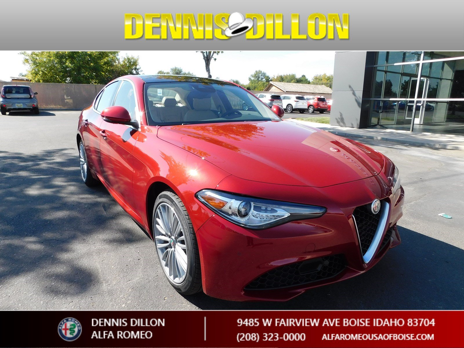 New 2018 Alfa Romeo Giulia Ti Lusso Sedan In Boise F1j072 Dennis Paint Codes