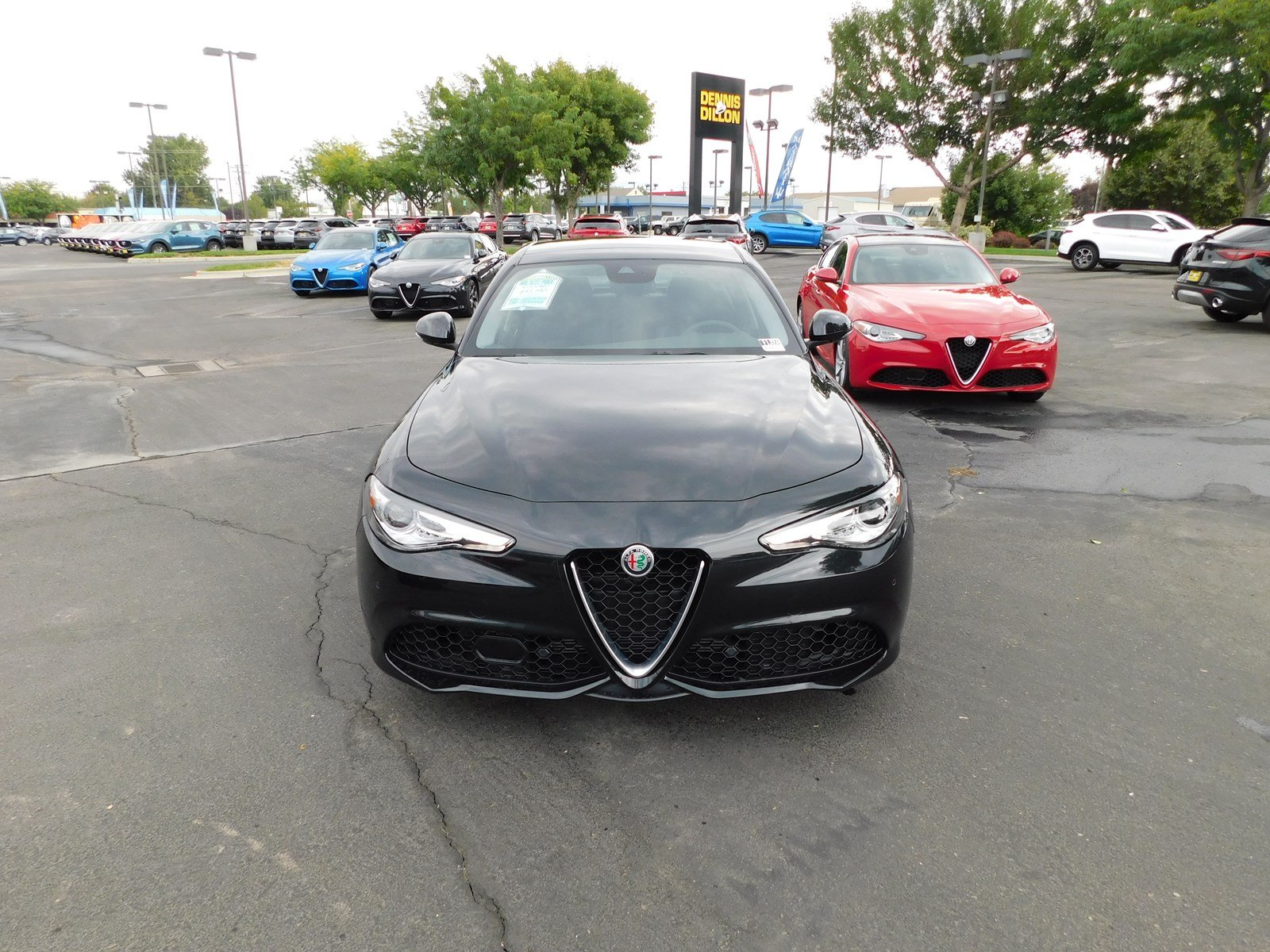 New 2018 Alfa Romeo Giulia Ti Sport Sedan in Boise F1J058